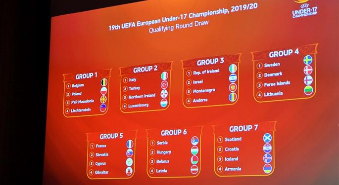 Hrvatska U-17 u kvalifikacijskoj skupini u Škotskoj