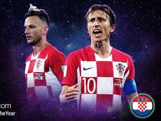 Modrić i Rakitić kandidati za Uefinu momčad godine