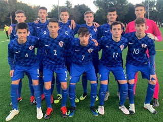 Hrvatska U-15 remizirala sa Slovencima u Medulinu