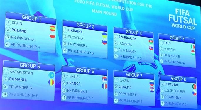 Futsal: Hrvatska domaćin skupine s Rusijom
