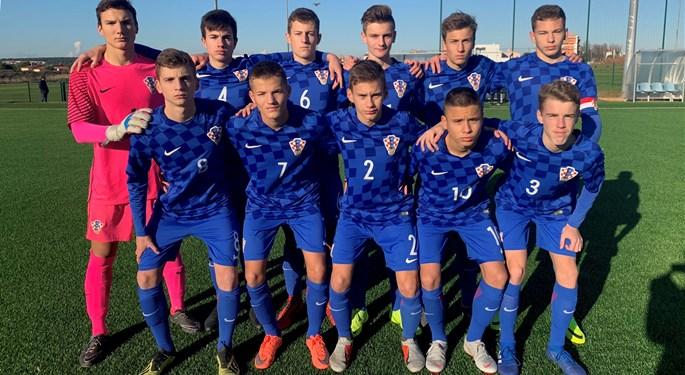 Hrvatska U-15 ponovno odigrala 1:1 sa Slovencima