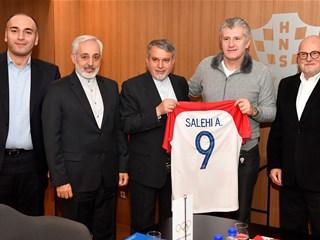 Predsjednik Šuker ugostio iransku delegaciju i Zlatka Matešu