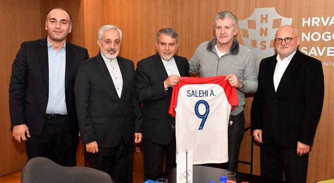 Sportska Hrvatska Predsjednik suker ugostio iransku delegaciju i Zlatka Matesu