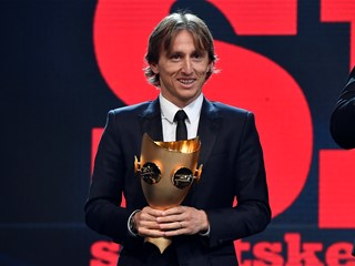 Luka Modrić dominates football awards season