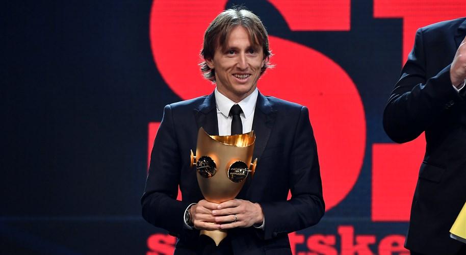 Luka Modrić, nogometni kralj 2018. godine#Luka Modrić dominates football awards season