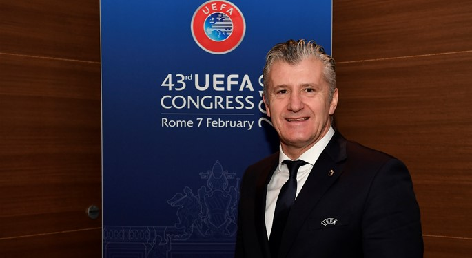 "Šuker: ""Thanks to European associations for great support"""