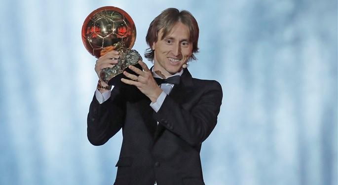 Luka Modrić is Croatia's first Ballon d'Or winner!