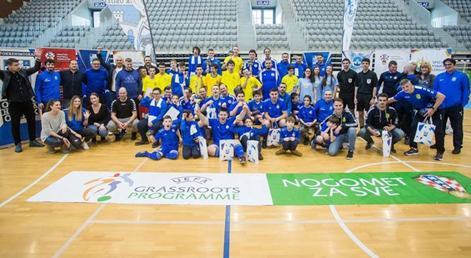 Football tournament for children with disabilities held in Osijek