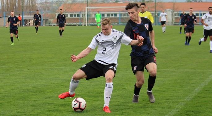 Njemačka u samoj završnici nadjačala Hrvatsku U-19