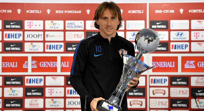 Modrić primio nagradu za najboljeg sportaša svijeta