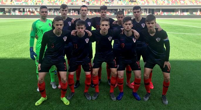 Remi Hrvatske U-17 sa Švicarskom, osvojeno drugo mjesto