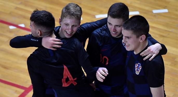 Sjajan nastup raspucane Hrvatske U-19 na Futsal Euru
