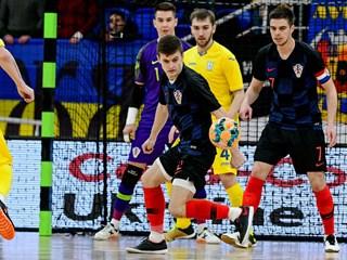 Futsal: Hrvatska u Dubrovniku na prvoj stepenici prema SP-u