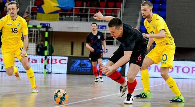 Futsal: Prijateljska pobjeda Ukrajine nad Hrvatskom