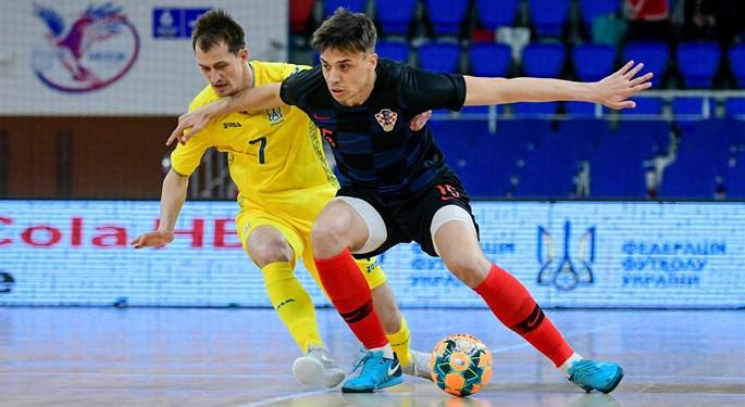 Futsal: Dva prijateljska susreta Hrvatske u Ukrajini