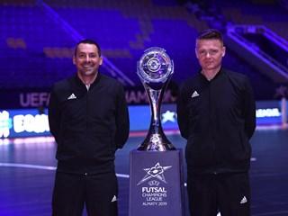 Tomić i Jelić ponovno sude finale futsalske Lige prvaka