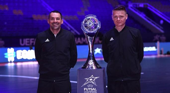 Nikola Jelić sudi u finalu futsalske Lige prvaka