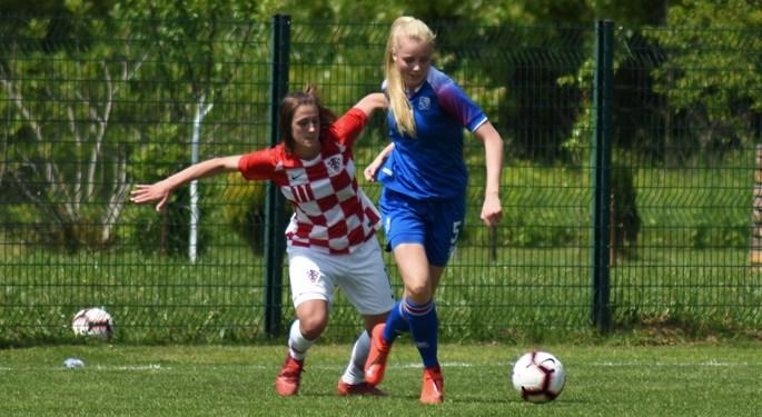 Video: Islanđanke nadjačale Hrvatsku U-16 na završetku turnira