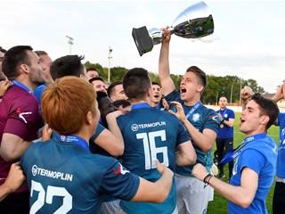 Varaždinu uručen pehar za prvaka Druge HNL
