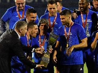 """Dinamo slavi ligaški trofej: """"Sjajna sezona"""""""