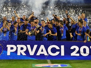 Dinamo wins another championship, Rijeka takes the Cup