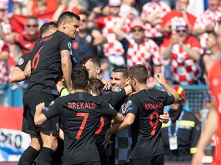 Utakmica Hrvatska - Mađarska u Splitu