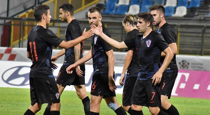 Video: Prijateljska pobjeda Hrvatske U-21 nad UAE U-23