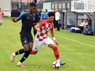 Video: Hrvatska U-20 remizirala s Francuskom