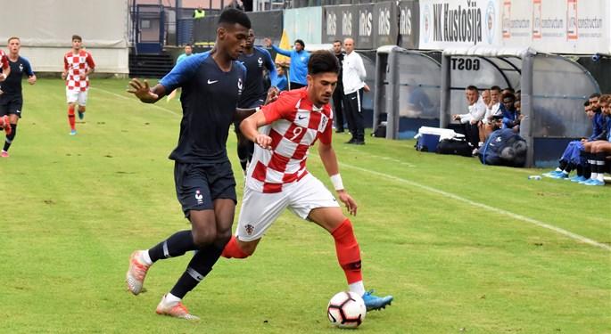 Video: Hrvatska U-20 remizirala s Francuskom