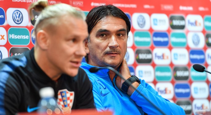 "Dalić and Vida: ""Azerbaijan is no easy task"""