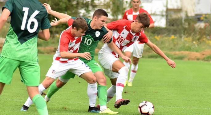 Video: Slovenci velikim preokretom pobijedili Hrvatsku U-19
