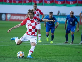 Croatia repeats the draw in Azerbaijan