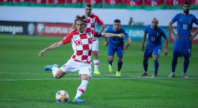 Croatia repeats the draw in Azerbaijan