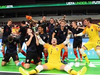 Hrvatska u finalu U-19 Futsal Eura!