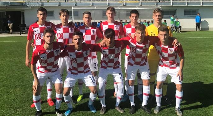 Hrvatska U-17 uzvratila Slovačkoj