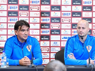 """Dalić: """"We have to believe in ourselves, our work, unity and a positive outcome"""""""