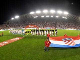Hrvatska protiv Rusije na Poljudu