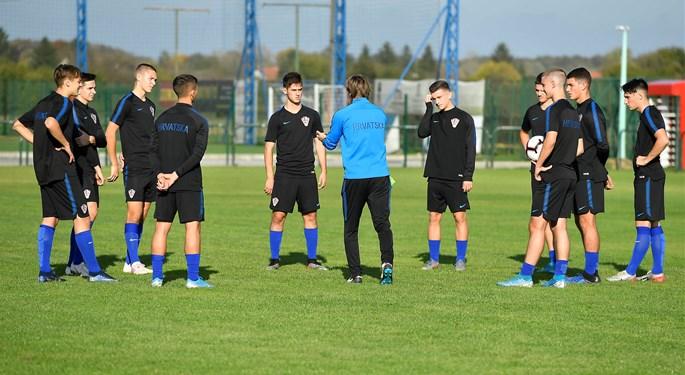 Hrvatska U-17 priprema se za kvalifikacijski turnir u Škotskoj