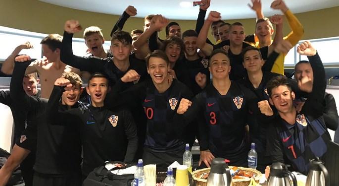 Hrvatska U-17 uvjerljiva protiv Armenije, prva do Elitnog kola