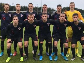 Hrvatska U-17 sa sve tri pobjede do prvog mjesta u skupini