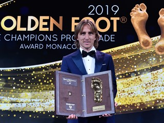 Luka Modrić dobitnik nagrade Golden Foot