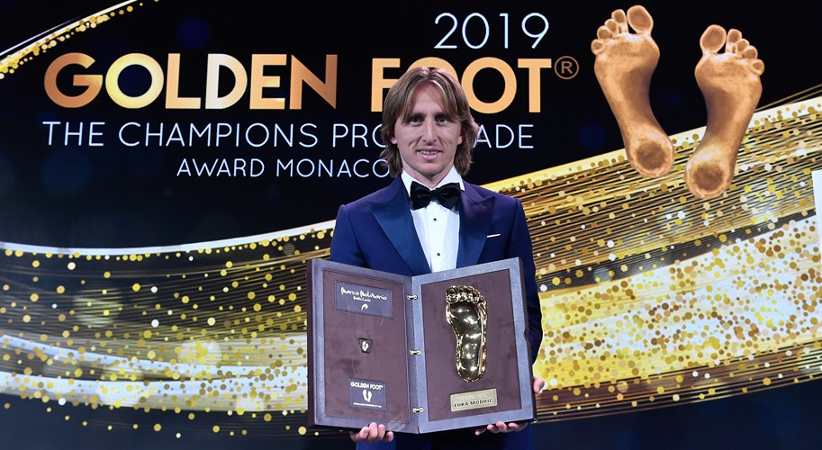 Luka Modrić dobitnik nagrade Golden Foot