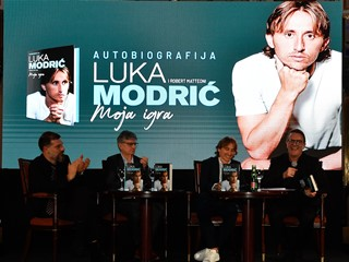 Predstavljena autobiografija Luke Modrića