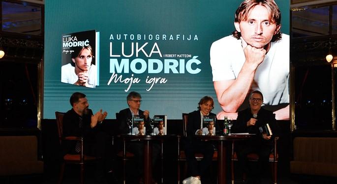 Video: Predstavljena autobiografija Luke Modrića