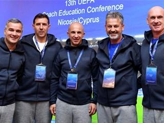 Hrvatska delegacija na Uefinoj konferenciji o trenerskom obrazovanju