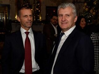 Predsjednik Uefe proglašen ambasadorom Sportskih igara mladih