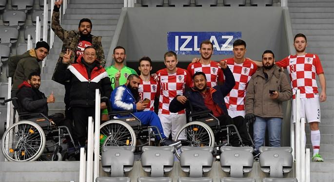 Za futsalske reprezentativce u Osijeku navijali i ratni invalidi