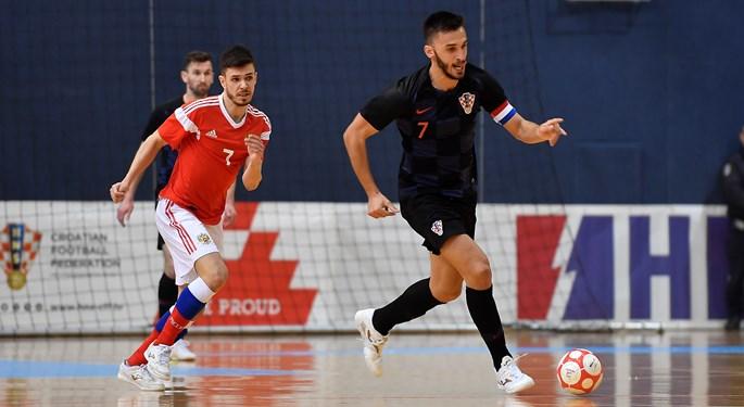 Hrvatska protiv Češke u Zadru