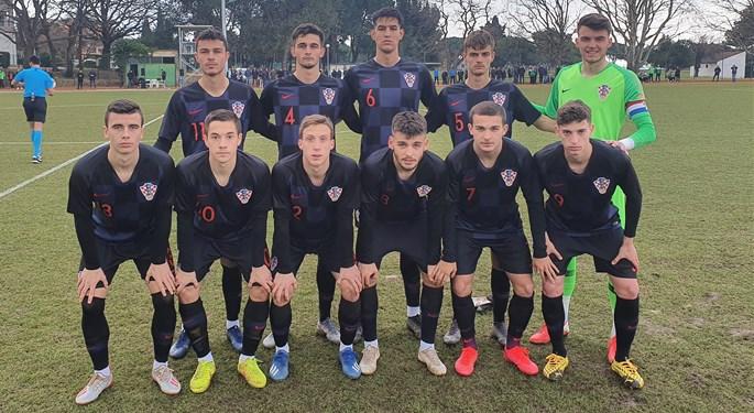 Uvjerljiva pobjeda Hrvatske U-19 protiv Austrije