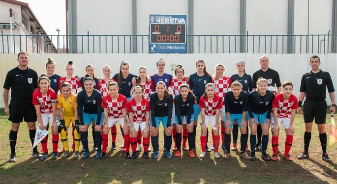 Visoka pobjeda Hrvatske U-17 nad domaćinom Neretvom